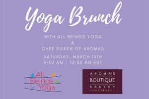 Yoga Brunch Flyer